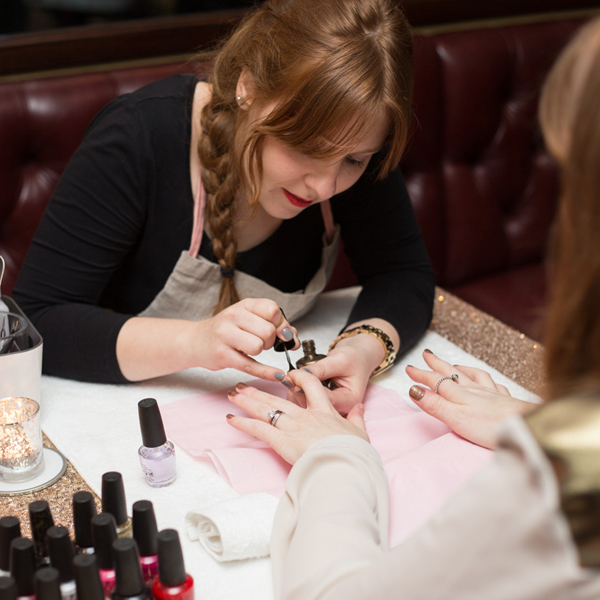 Luxury manicure at home London