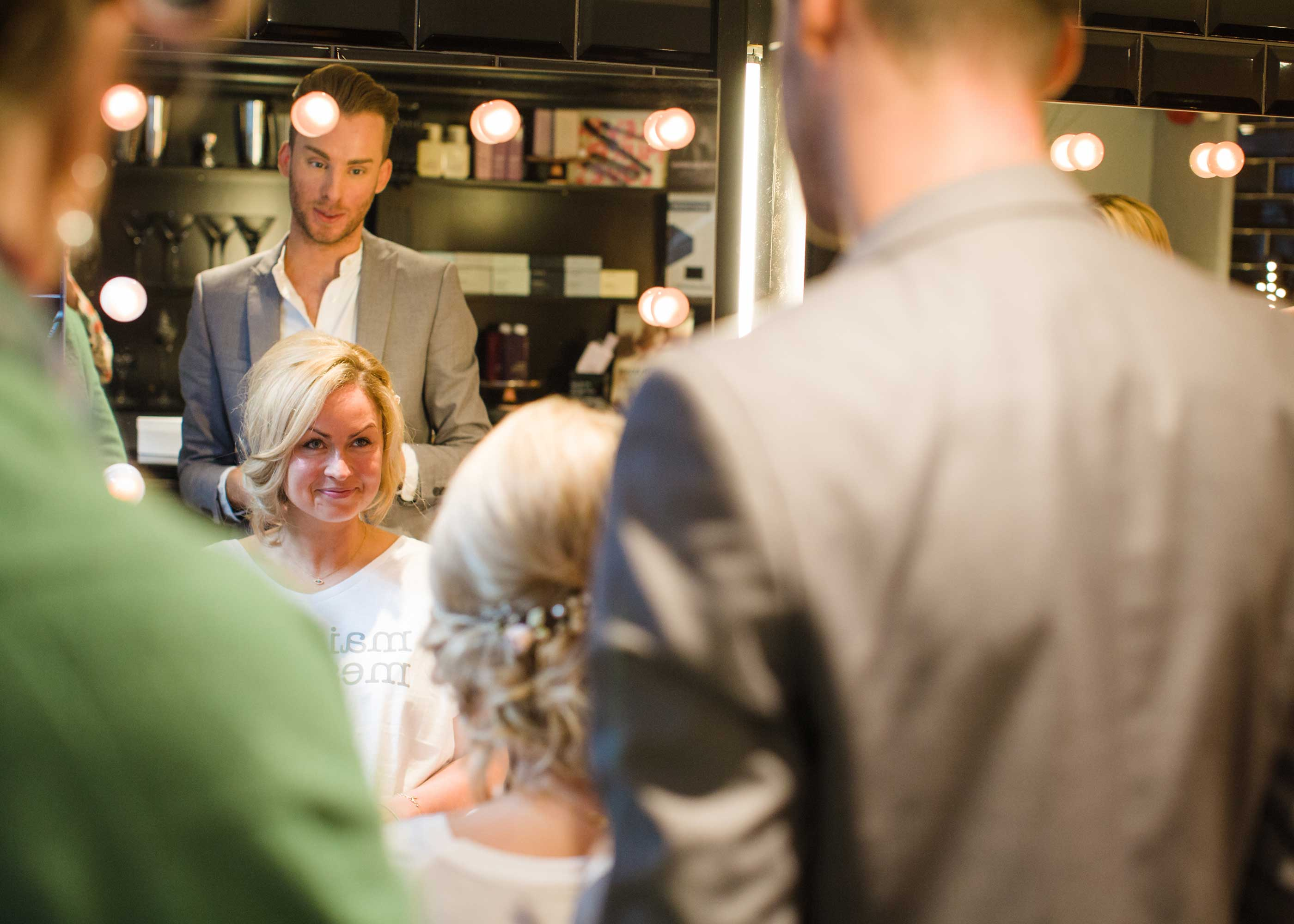 Maids to Measure bride hair consultation