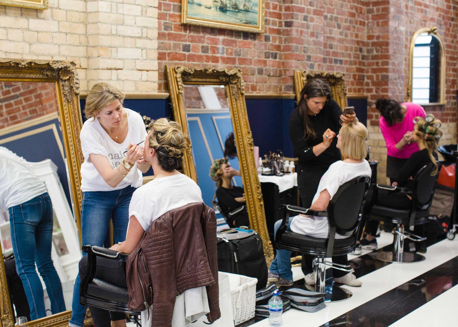 Sapphire Pink Makeup studio London