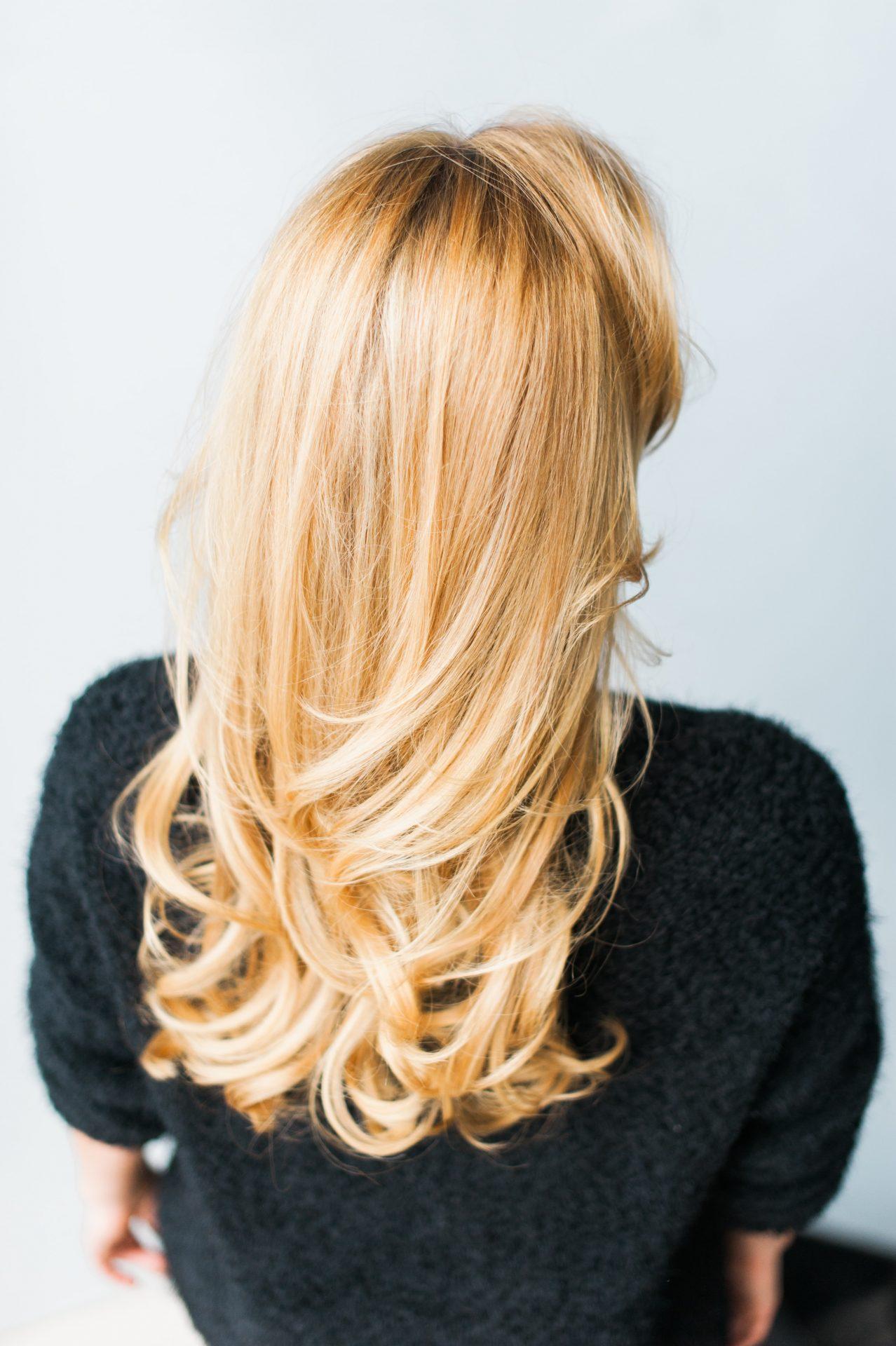 Kate Nielen's long hair
