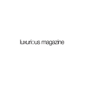 an image of the luxurious magazine logo