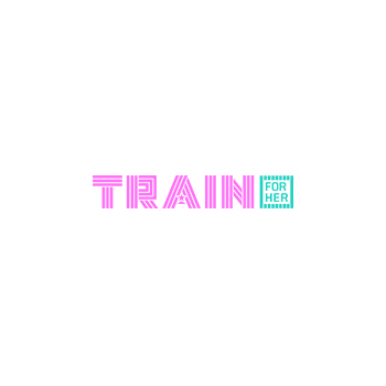 the train for her logo