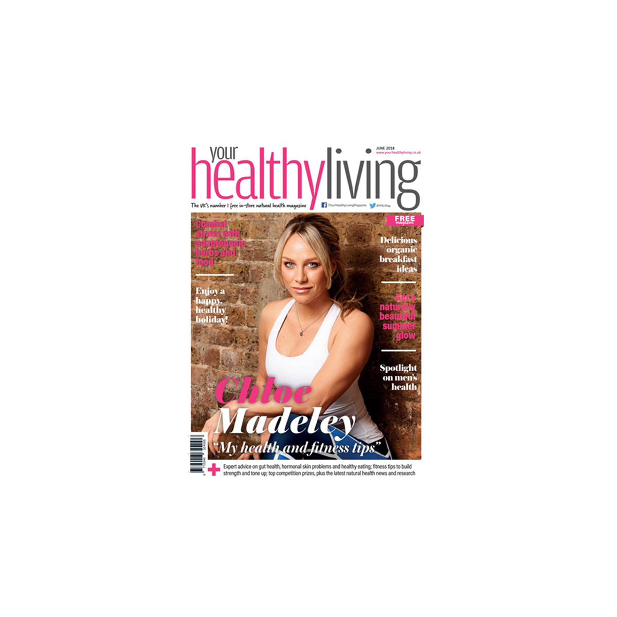 an image of the cover of healthy living magazine